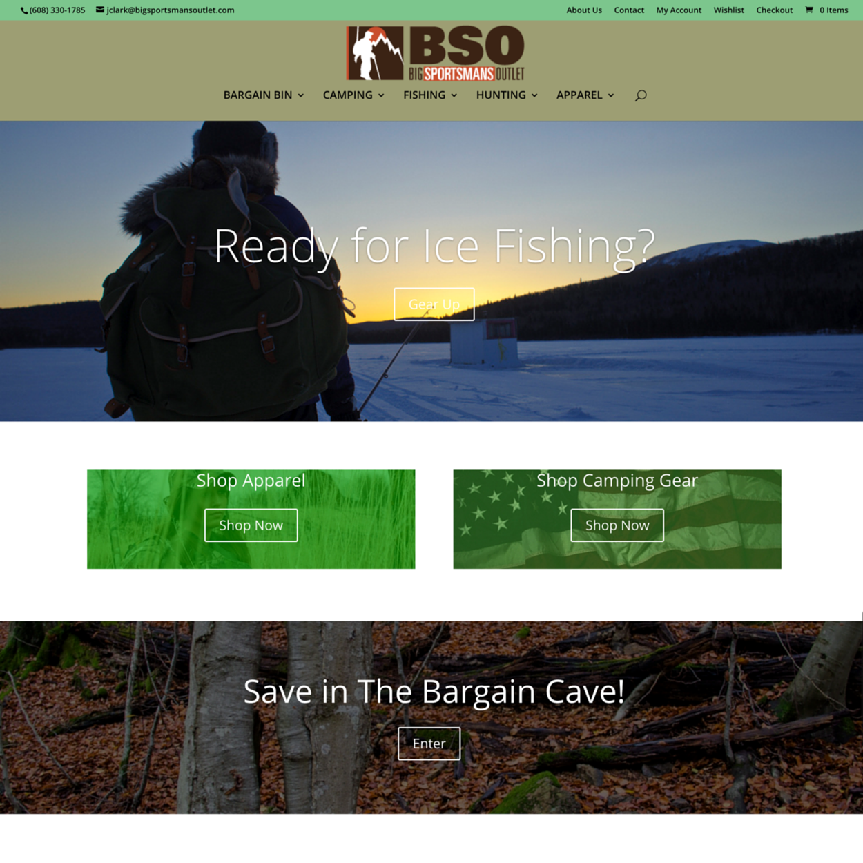 BSO ecommerce web design Crop